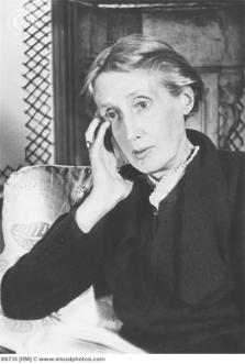 "Virginia Woolf. (Virginia Woolf, a Britisth authoress of ""A Room of One's Own"", ""To the Lighthouse"", ""Jacob's Room"" and other novels and crit)"